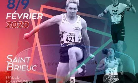 Championnats de France espoirs/nationaux: les qualifiés