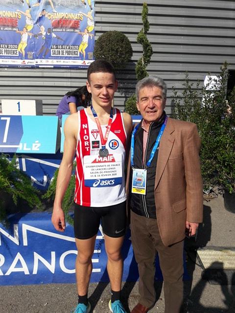Championnats de France de lancers longs: 7 médailles pour la LANA