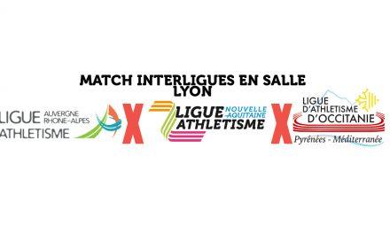 match interligues: les U20 à lyon!
