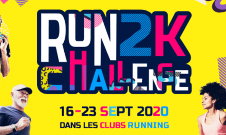 Run 2K Challenge: une fête du running dans nos clubs!