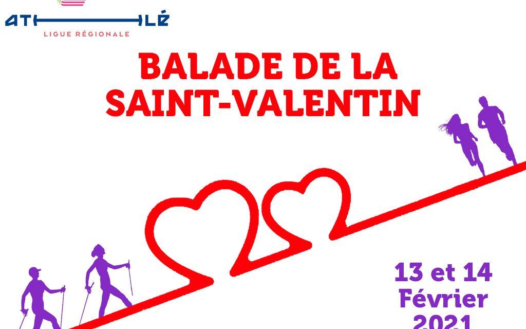 Marchez et courez pour la saint valentin!