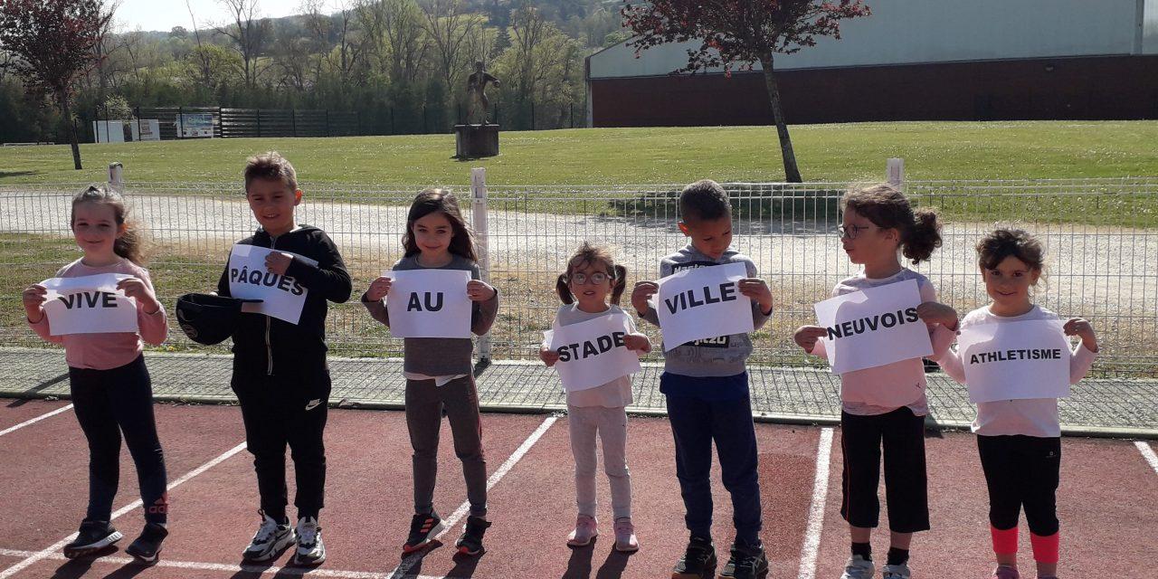 Initiatives des clubs : ca bouge au stade villeneuvois athlétisme !