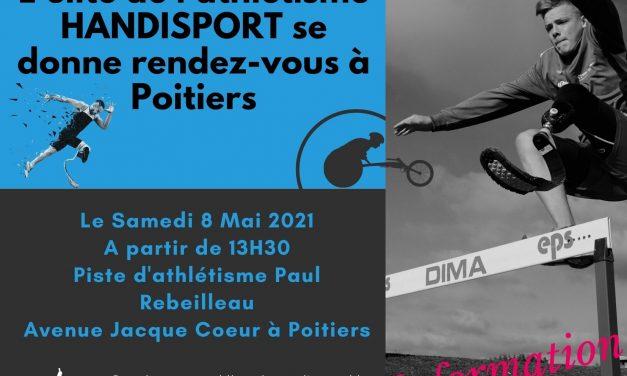 Un meeting national Handisport à Poitiers !