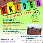 Ekiden de Villenave : support des champmionnats LANA d'Ekiden