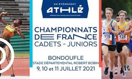 j-1 avant les France cadets-juniors!