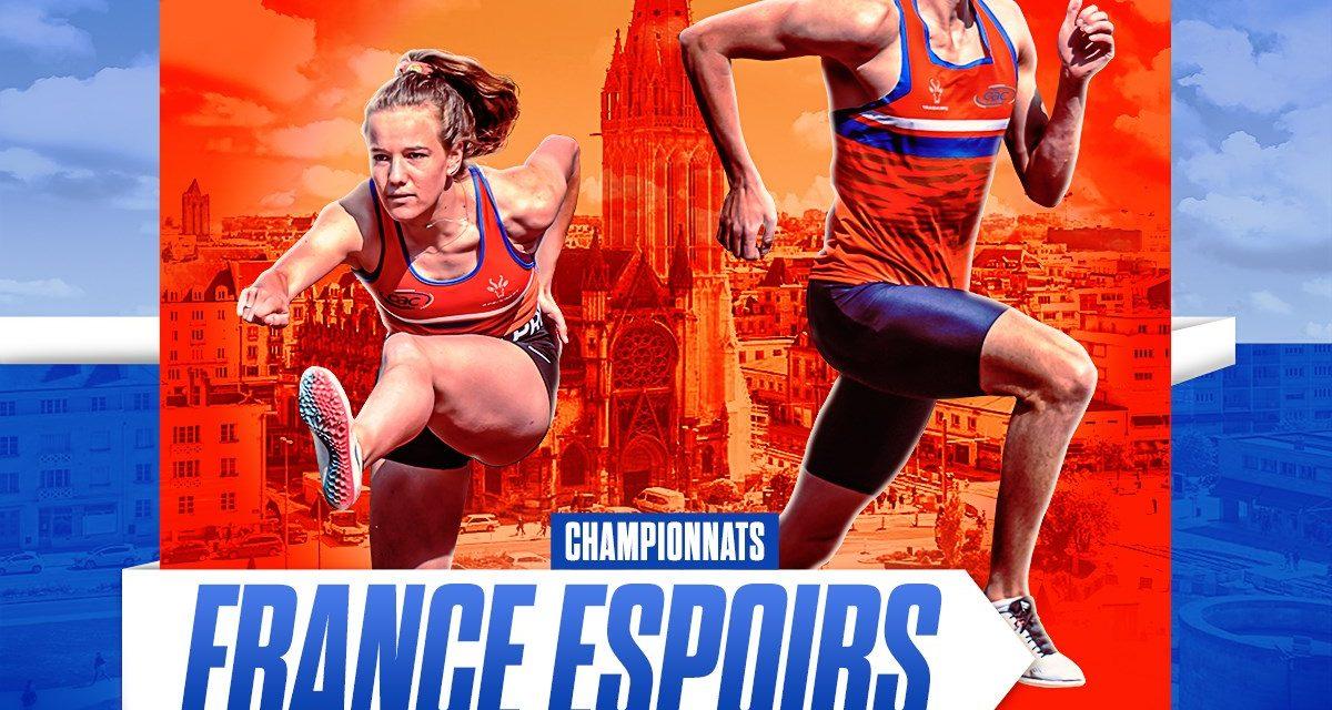 46 qualifiés aux championnats de France Espoirs