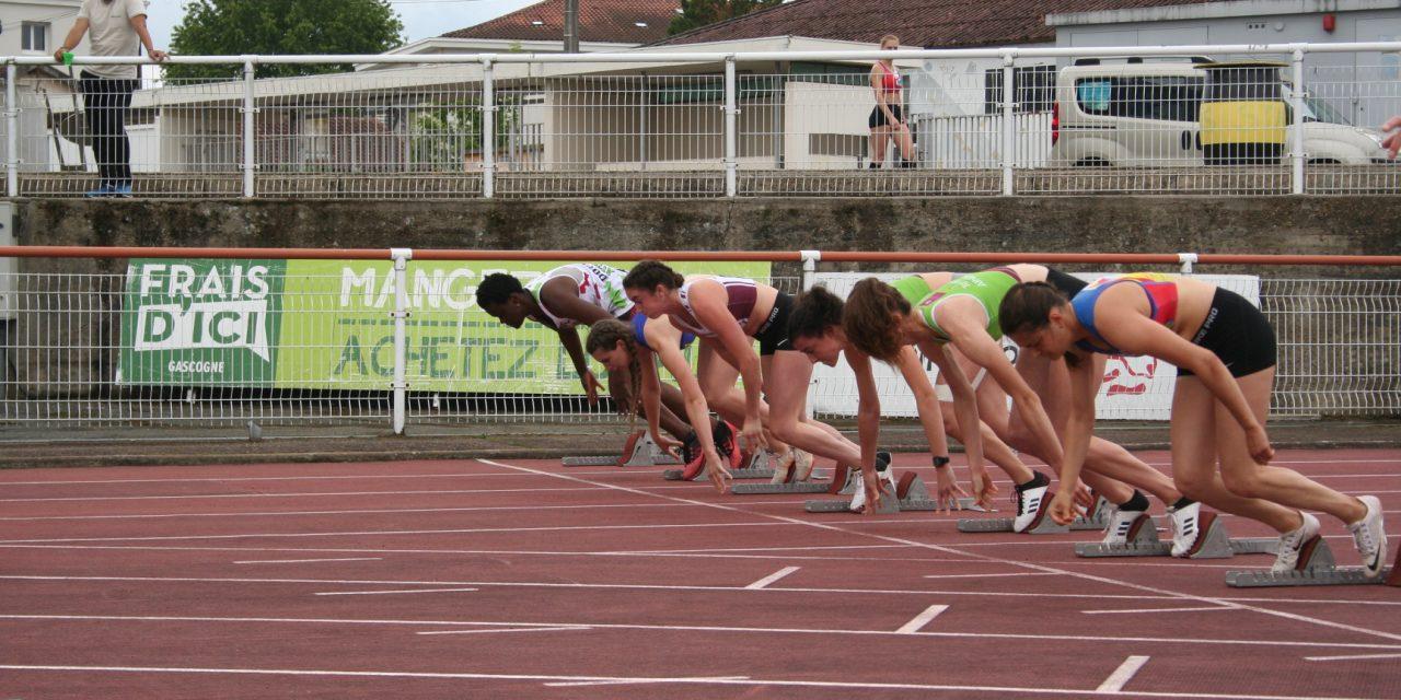 Championnats LANA CA-SE : 800 néo-aquitains en piste !