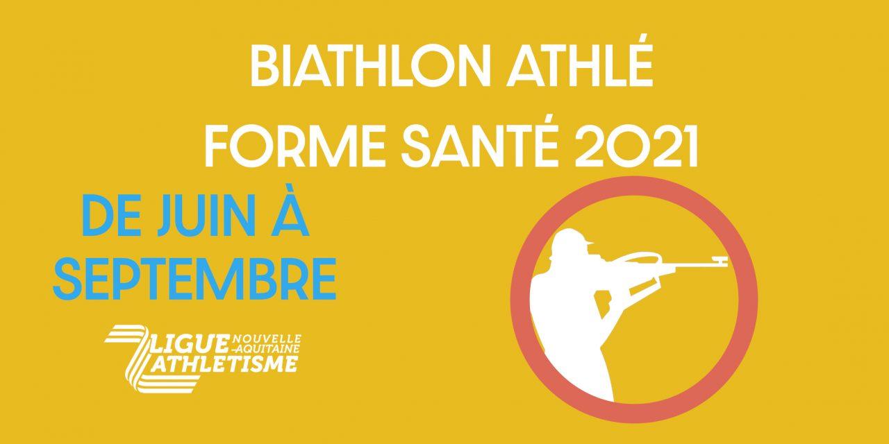 Cet été, faites du biathlon Athlé forme !