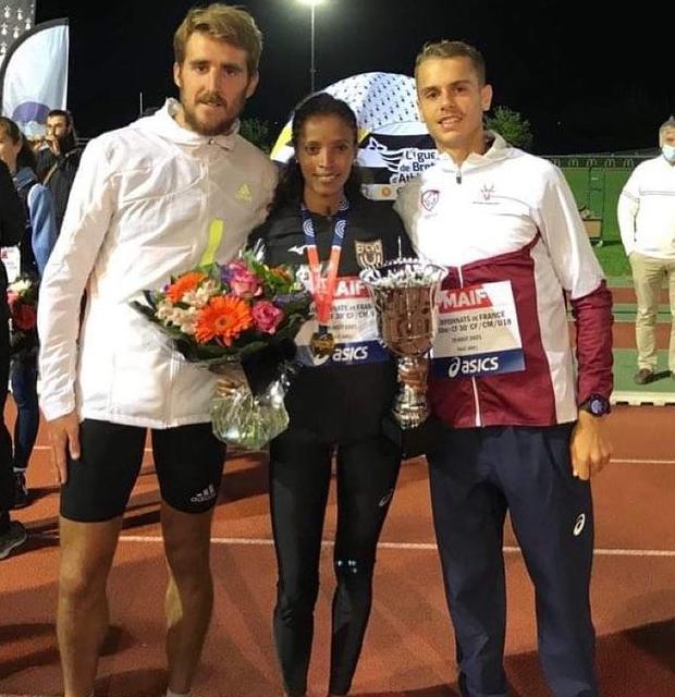 France de 10 000m, trois médaillés au compteur!