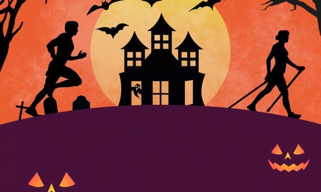 Marche Nordique : Préparez-vous à fêter halloween!