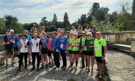 Marche Nordique Compétition Nature: Une première à Brantôme!